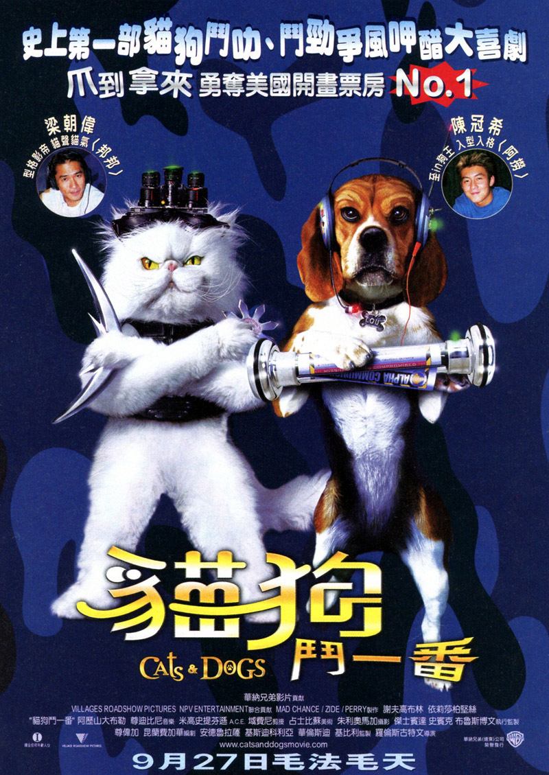 Dog Breeds In Cats And Dogs Movie