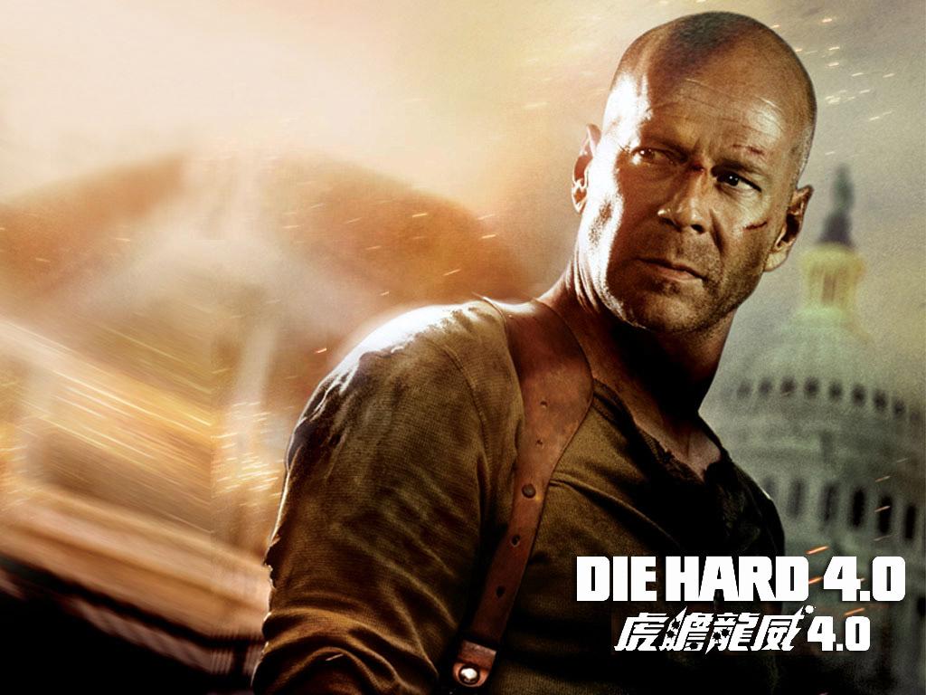 Die Hard 4.0 1024x768 Bruce Willis